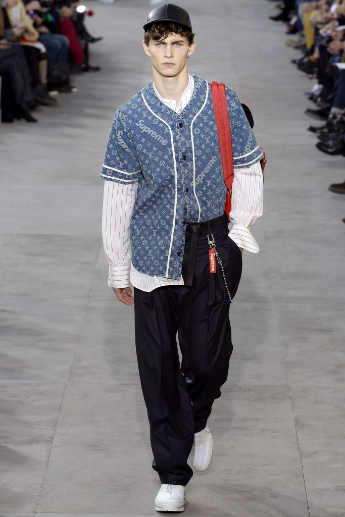 Louis Vuitton Supreme look 10