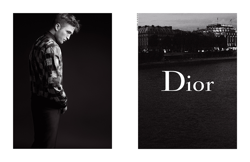 DIOR HOMME - FALL 17 - ROBERT PATTINSON _4