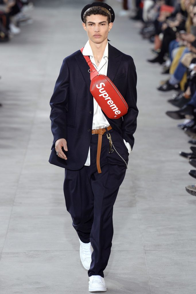 Louis Vuitton Supreme look 1