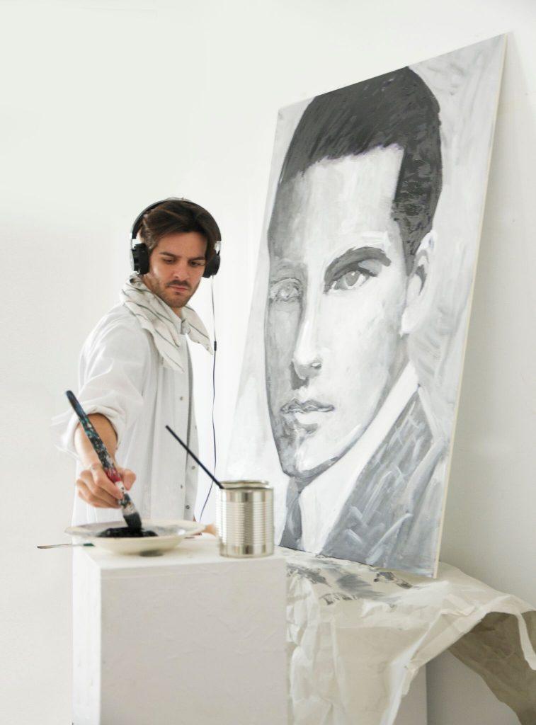 Ernesto Artillo para Art meets Fashion de Las Rozas Village
